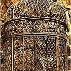 Old ornate birdcage by Deb Gibbons