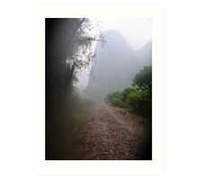 Path Less Traveled - Yangshuo China Art Print