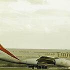 Emirates Airbus A380  by craig wilson