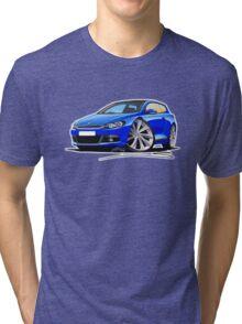 VW Scirocco (Mk3) Blue Tri-blend T-Shirt