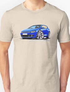 VW Scirocco (Mk3) Blue Unisex T-Shirt