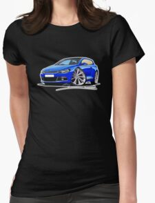 VW Scirocco (Mk3) Blue Womens Fitted T-Shirt