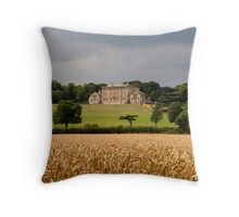 Cusworth Hall Throw Pillow