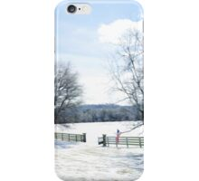 A Tennessee Winter Day iPhone Case/Skin