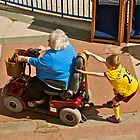 Slow down Grandma! by John Thurgood