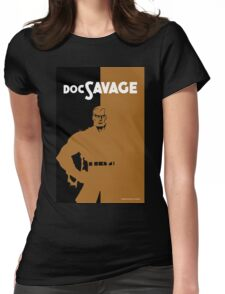 DOC SAVAGE Womens Fitted T-Shirt