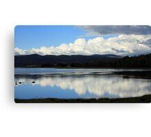 Tamar River Reflections - Blackwall, Tasmania Canvas Print