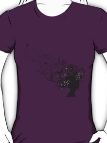 girl face design T-Shirt
