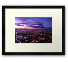 Melbourne urban dreams Framed Print