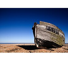 FE180 - Laid up at Dungeness Photographic Print