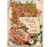 Bambi quote iPad Case/Skin