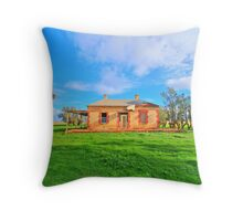 House of ruins  Throw Pillow