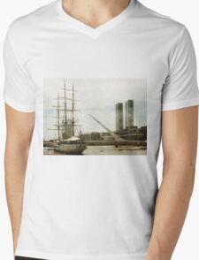 Puerto Madero in Buenos Aires Mens V-Neck T-Shirt