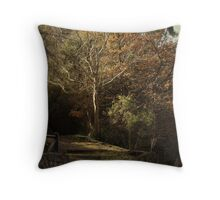 ~Autumn at the Mount~ Throw Pillow