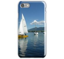 Sailing Boats on Forggensee iPhone Case/Skin