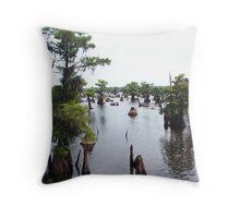 the DEAD Lakes Throw Pillow