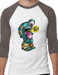 My Whole Body Wants Tacos Men's Baseball ¾ T-Shirt