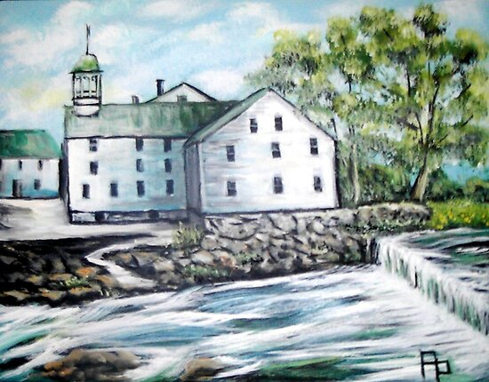 Old Slater Mill by Pamela Plante