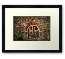 Gate To Paradise Framed Print