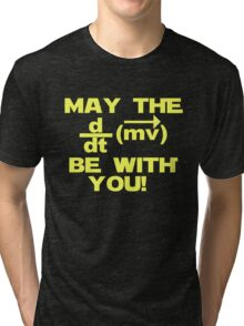 """May the """"force"""" be with you Tri-blend T-Shirt"""