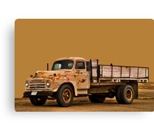 Terry Truck Canvas Print