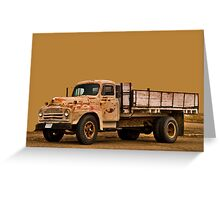 Terry Truck Greeting Card
