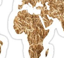 World of wheat Sticker