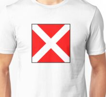 International maritime signal flag Unisex T-Shirt