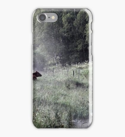 25.7.2015: Tired Cows on Pasture iPhone Case/Skin