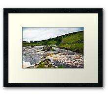 River Wharfe at Yockenthwaite  #2 Framed Print