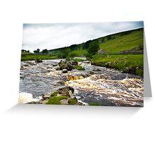 River Wharfe at Yockenthwaite  #2 Greeting Card