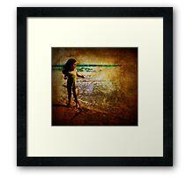 Sheer Delight of Discovery Framed Print