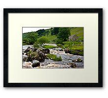 River Wharfe at Yockenthwaite  #3 Framed Print