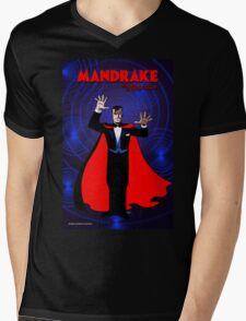 MANDRAKE THE MAGICIAN Mens V-Neck T-Shirt