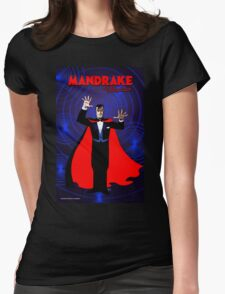 MANDRAKE THE MAGICIAN Womens Fitted T-Shirt