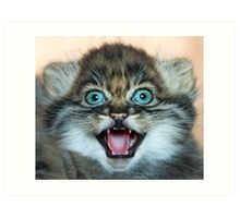 I may be small but these little teeth are still sharp!! Art Print
