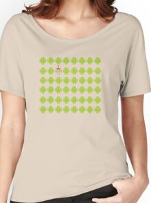 Where's Waldroid advanced Women's Relaxed Fit T-Shirt