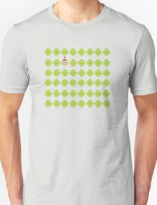 Where's Waldroid advanced T-Shirt