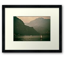 That summer feeling  Framed Print