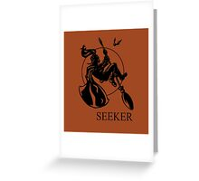 Seeker Print Greeting Card