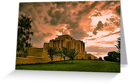 Cardston Alberta Temple by Teresa Zieba