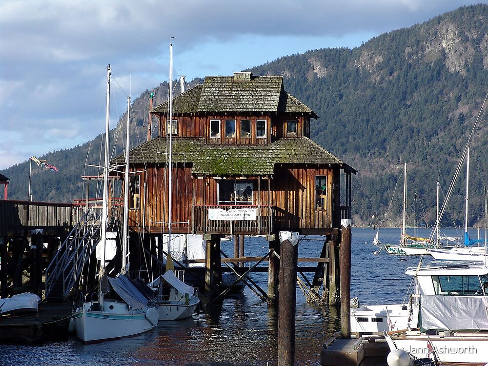 Cowichan Bay (1) by Jann Ashworth