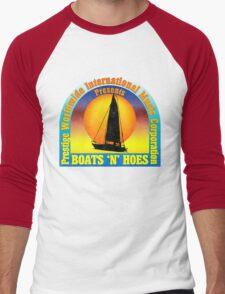 Boats 'n' Hoes Men's Baseball ¾ T-Shirt