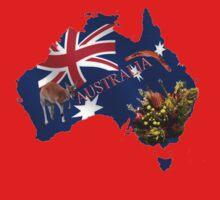 Australiana Tshirt by judygal
