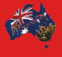 Australiana Tshirt by judygal