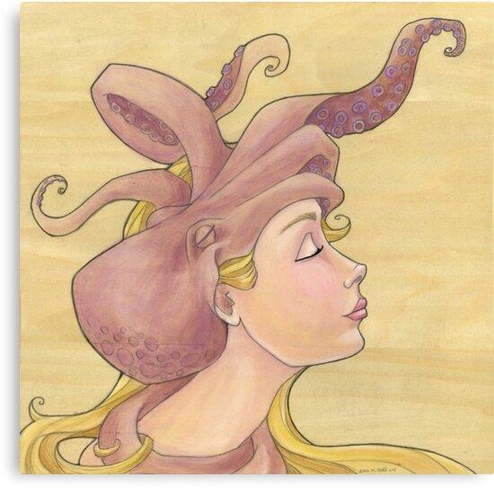 The Octopus Mermaid 11 by Karen  Hallion