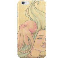 The Octopus Mermaid 7 iPhone Case/Skin