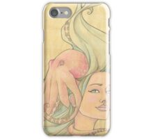 The Octopus Mermaid 7 iPhone Case/Skin