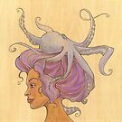 The Octopus Mermaid 4 by Karen  Hallion