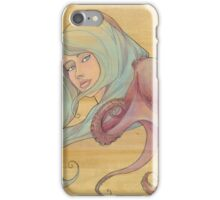 The Octopus Mermaid 3 iPhone Case/Skin